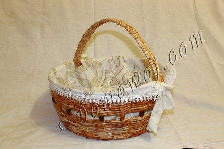 Плетение корзин конусной формы