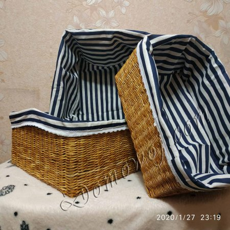 Набор из трех корзин, прямоугольные